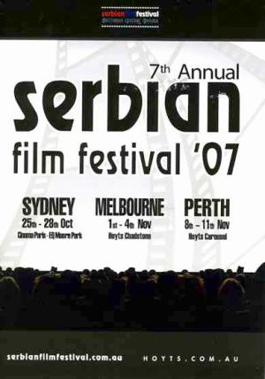 7th annual serbian film festival 2007