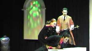 Officer (Eleanor Howlett), Cleante & Tartuffe